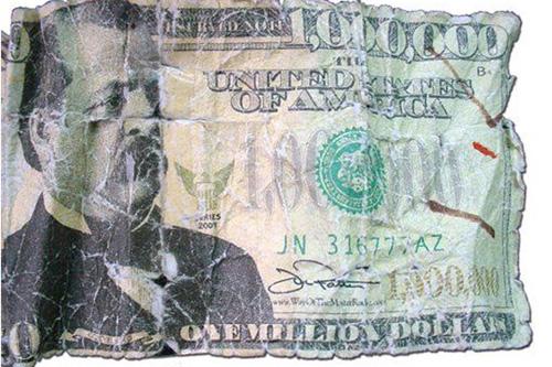 Nota de um milhão de dólares