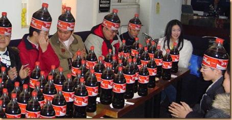 Equipe de vendas da Coca-Cola