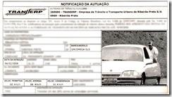 Auto de Infração: multa por empurar um carro em alta velocidade